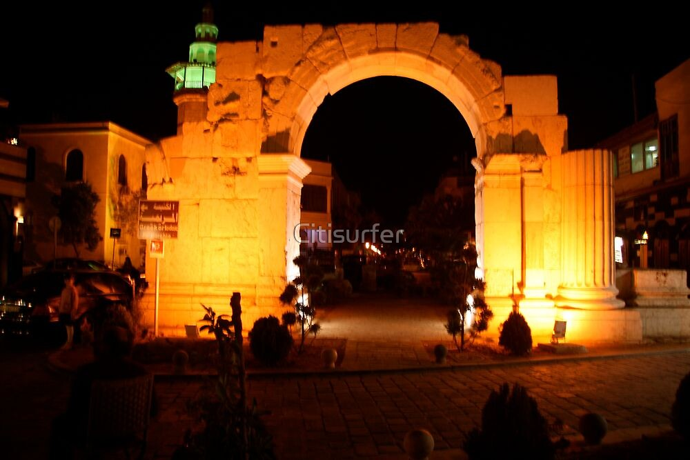 Gateway in Damascus by Citisurfer