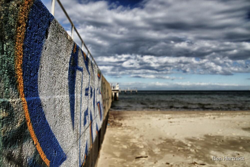 Street meets Beach by Ben Hartnett