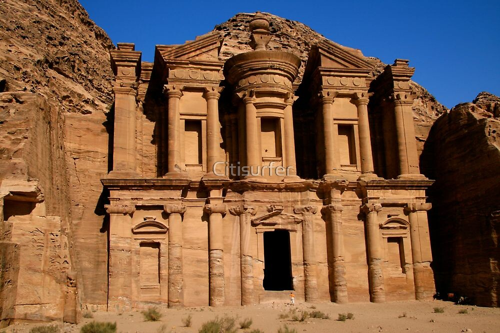 The Monastery, Petra by Citisurfer