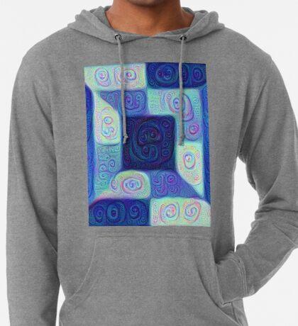 DeepDream Color Squares Visual Areas 5x5K v15 Lightweight Hoodie