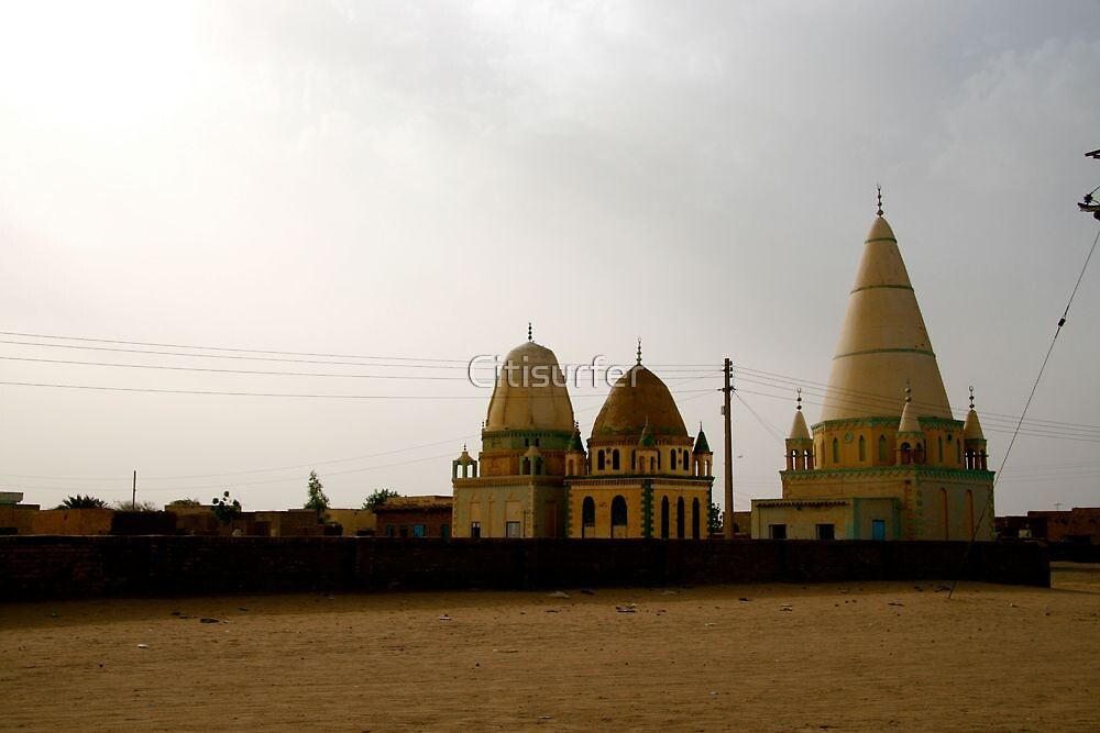 Mosque in Sudan by Citisurfer