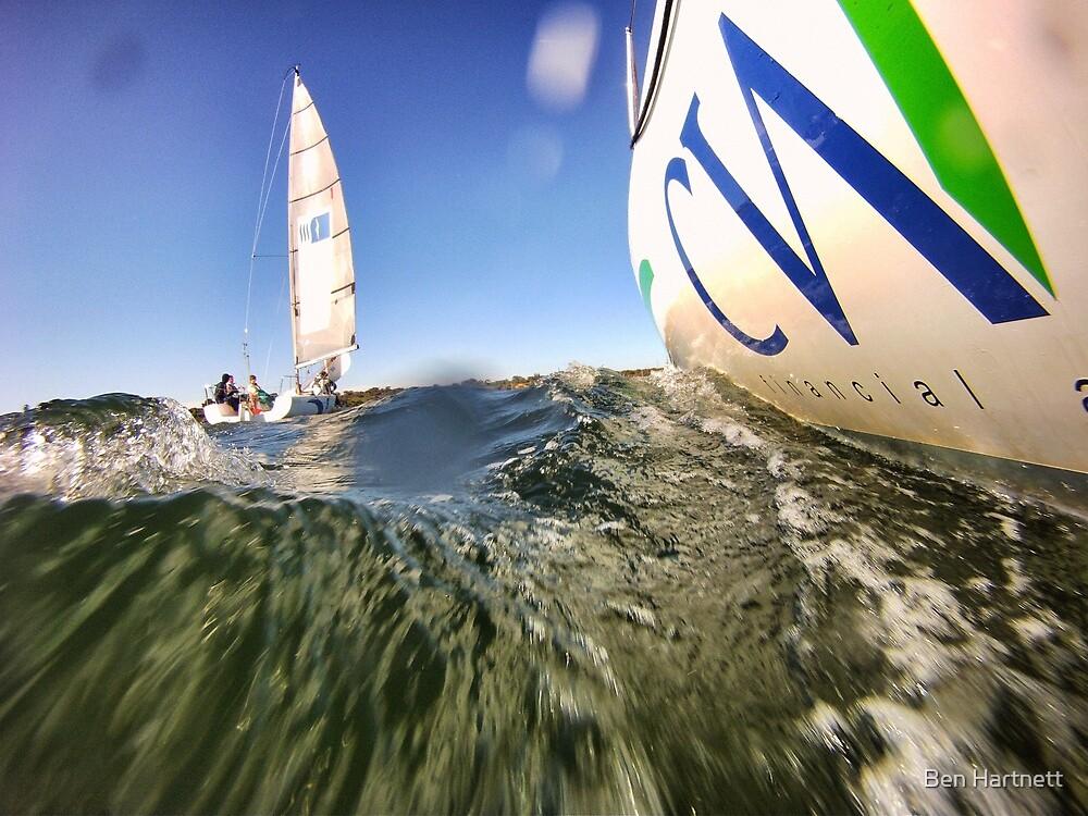 Sailing away  by Ben Hartnett