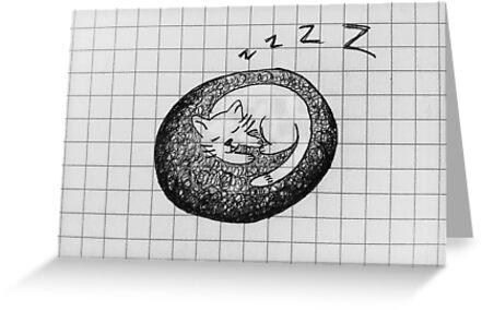 Cap Nap Doodle by peachtrea