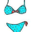 Polka Dot Bikini by Rothnie