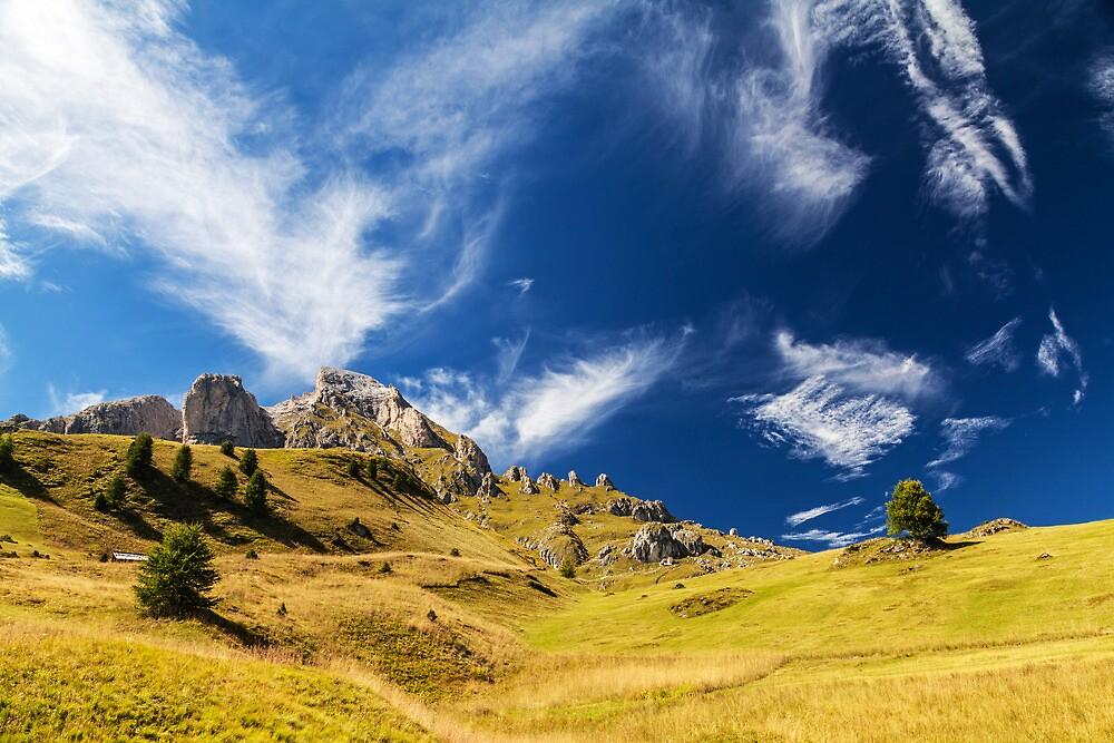 Sass de Putia, Dolomites, Italy by neutraldensity