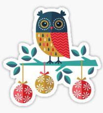 Whoo-Hoo It's Christmas! Sticker