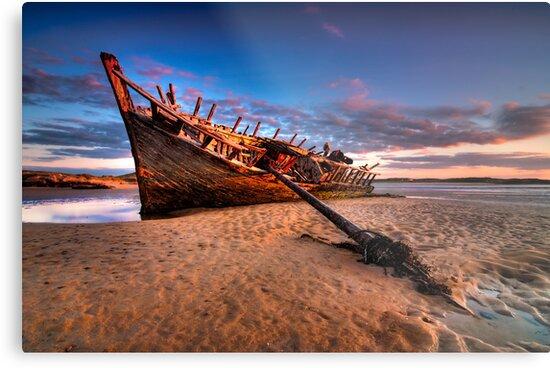 Bunbeg Wreck by jigsf