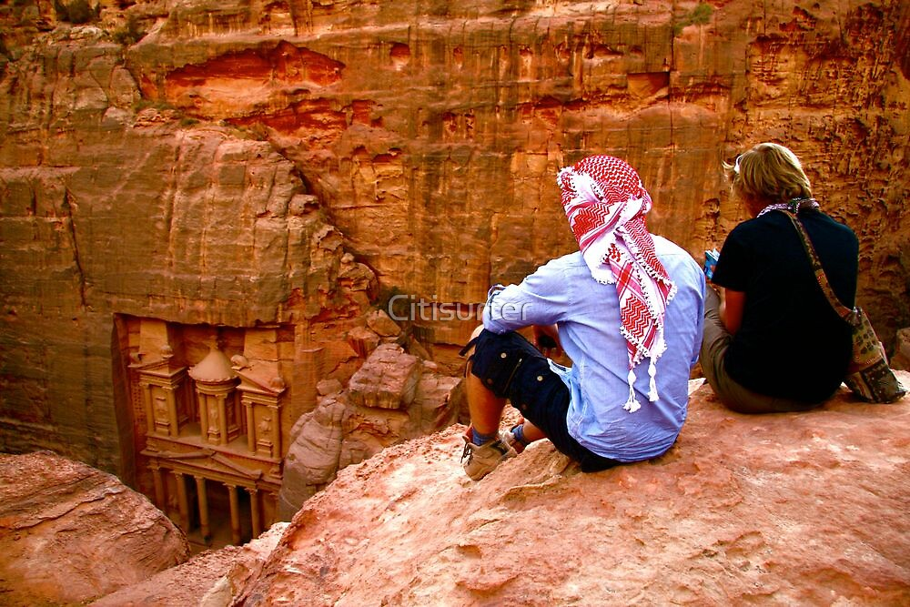 Friends enjoy the Vista at Petra by Citisurfer