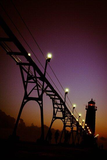 Grand Haven Pier by benjaminperfect