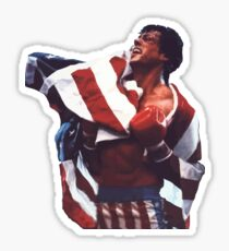 Rocky Balboa - The american dream Sticker