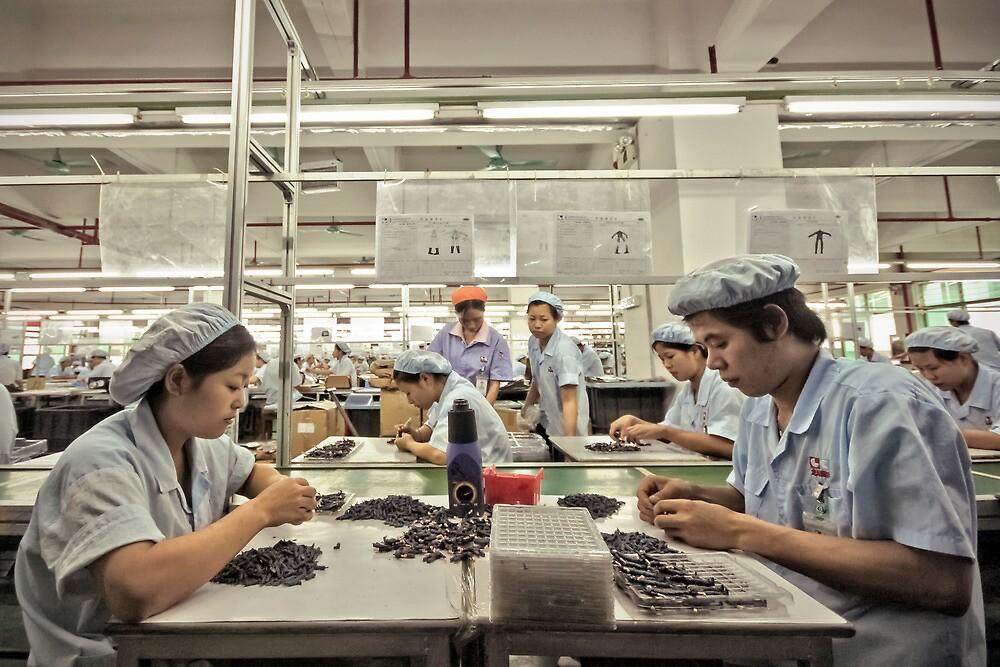 Factory Folk I by Chopen