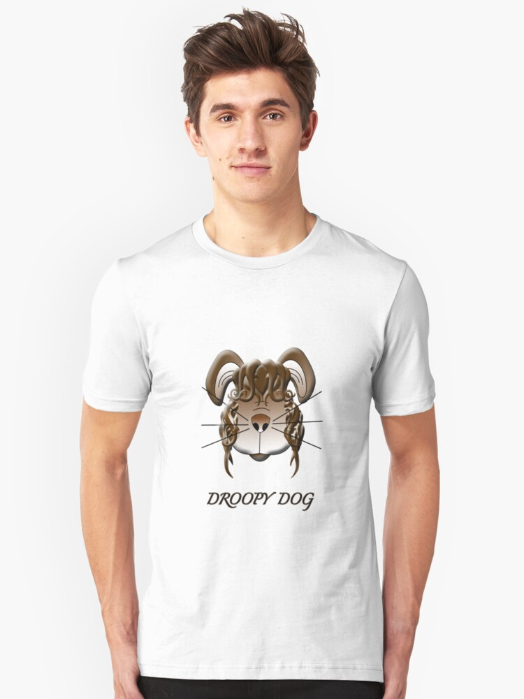 Droopy Dog T-shirt Unisex T-Shirt Front