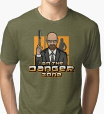 I am The Danger Zone Tri-blend T-Shirt