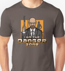 I am The Danger Zone Unisex T-Shirt