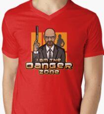 I am The Danger Zone Mens V-Neck T-Shirt
