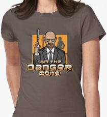 I am The Danger Zone Women's Fitted T-Shirt