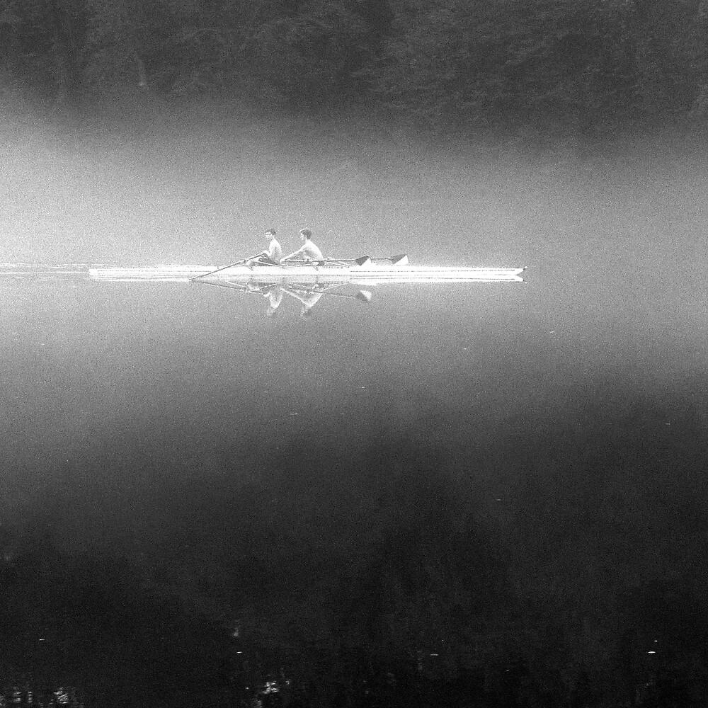 Chattahoochee Morning Mist by Roger Easley