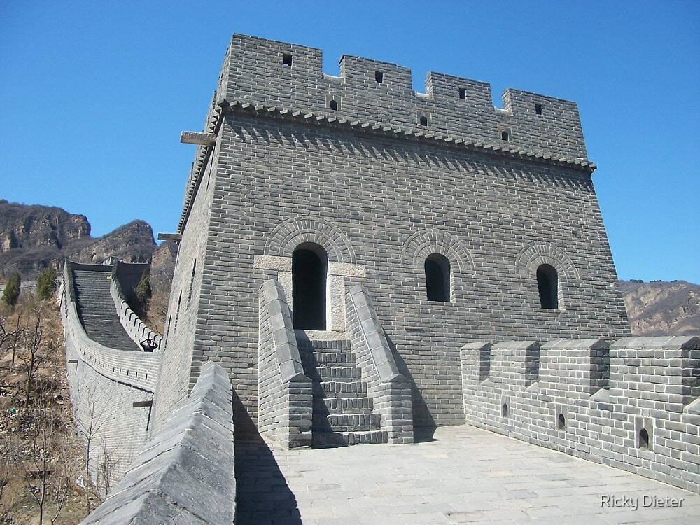 The Great Wall of China by Ricky Dieter