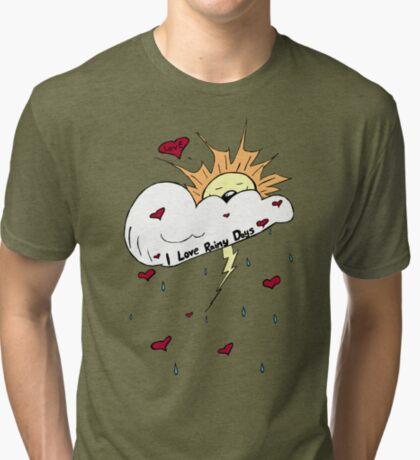 Rainy Days Tri-blend T-Shirt