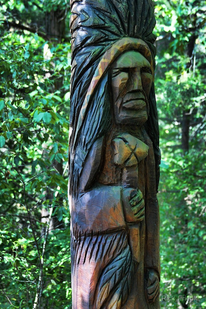 Tree Carving by Rick  Friedle