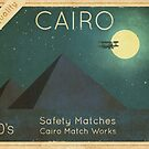 Cairo Safety Matches  by Terry  Fan