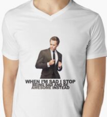 The Awesomeness that is Barney Stinson Mens V-Neck T-Shirt