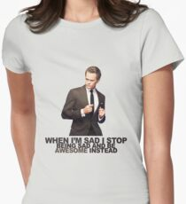 The Awesomeness that is Barney Stinson Women's Fitted T-Shirt
