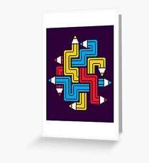 LINEAR CREATION Greeting Card