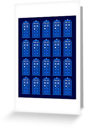 TARDIS PATTERN by DREWWISE