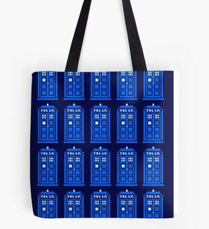TARDIS PATTERN Tote Bag