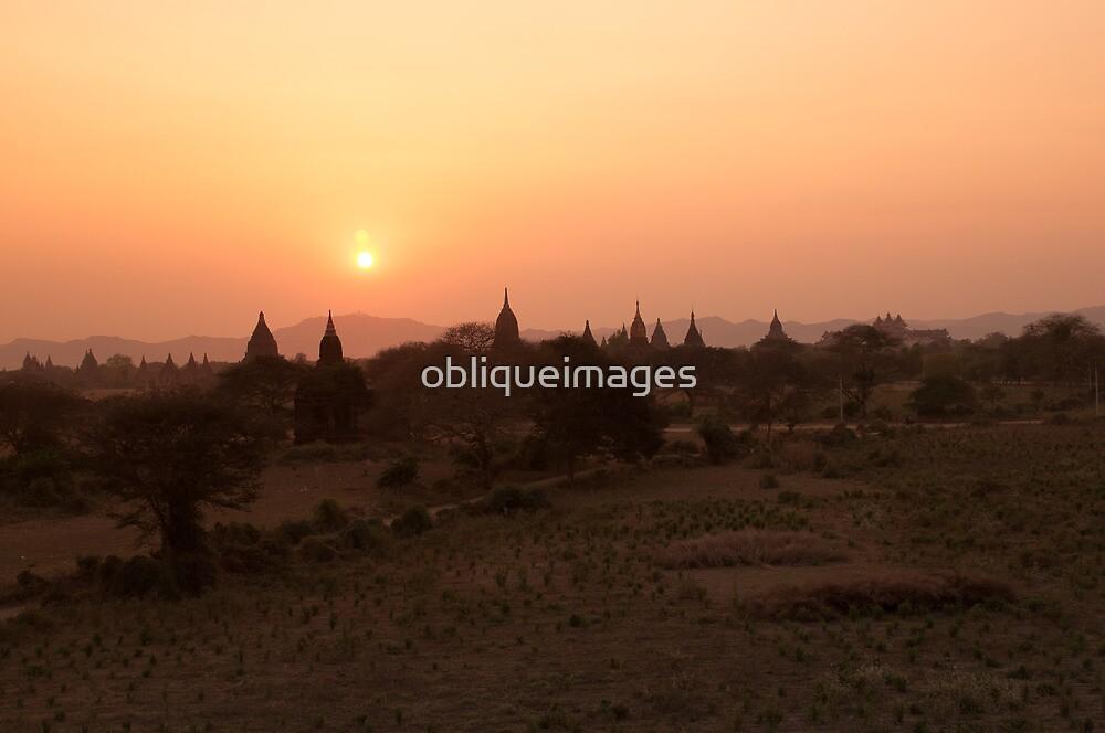 Temples on the plains by obliqueimages