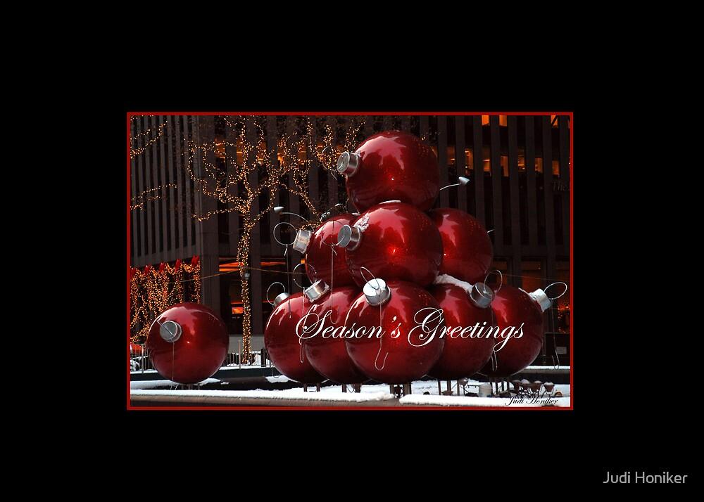 Season's Greetings by Judi Honiker