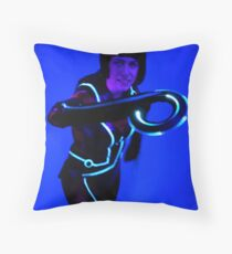 Quorra Throw Pillow