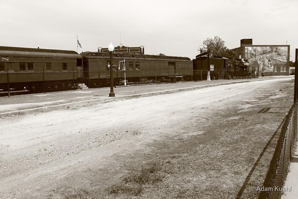 Galesburg, IL Train station by Adam Kuehl