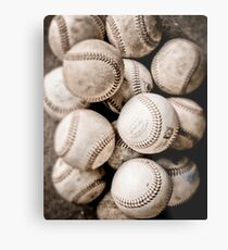 Baseball Collection Metal Print
