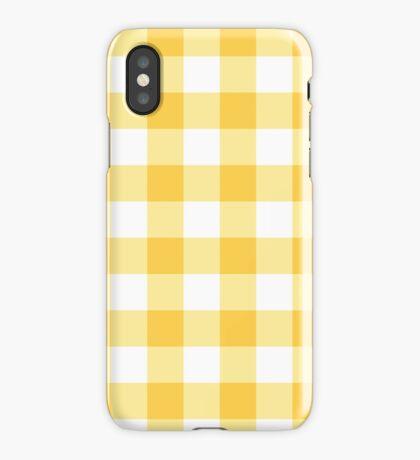 Sunny Plaid iPhone Case/Skin