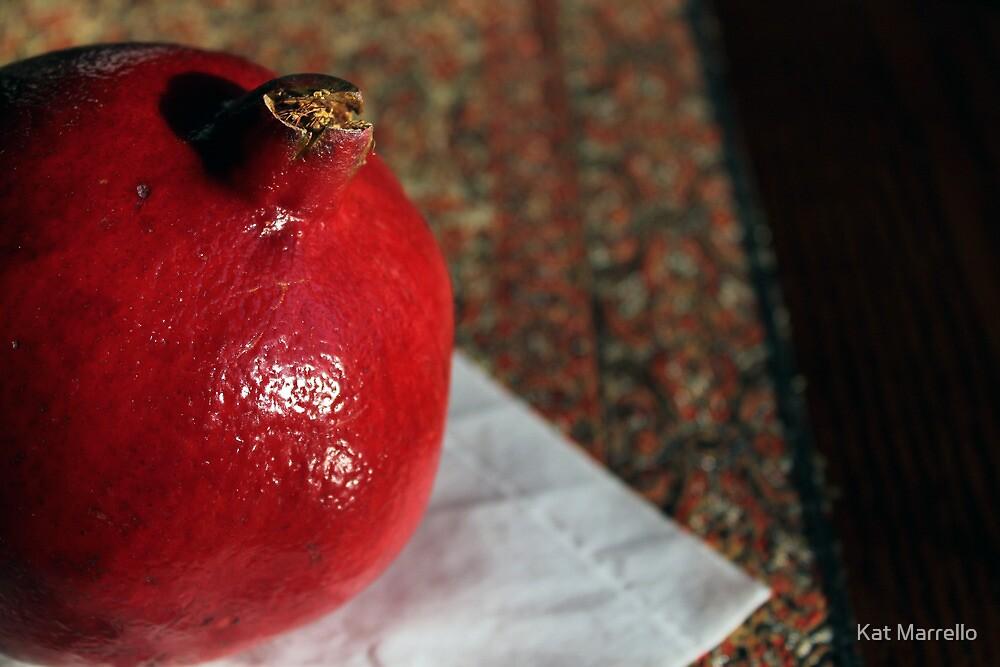 Pomegranate by Kat Marrello