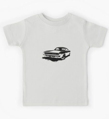 Charger R/T Stencil Kids Clothes