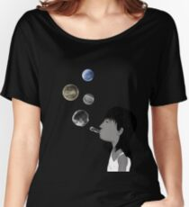 Blowing planets Women's Relaxed Fit T-Shirt