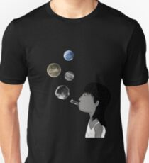 Blowing planets Unisex T-Shirt