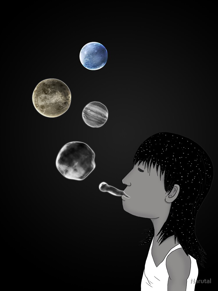 Blowing planets by Narutal