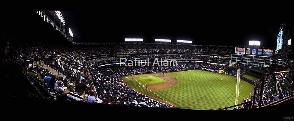 The Rangers Ballpark at Arlington, Texas. by Rafiul Alam