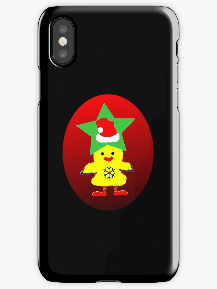 ★㋡ټHipHop Santa Chicken iPhone & iPod Cases㋡★ by Fantabulous