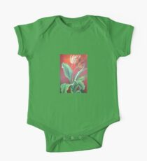 Red and Yellow Tulips Kids Clothes