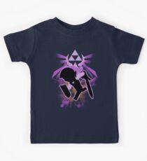 Super Smash Bros. Purple Toon Link Silhouette Kids Clothes