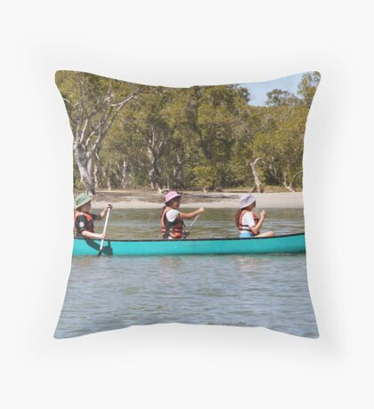 How's This For A School Sport? Throw Pillow