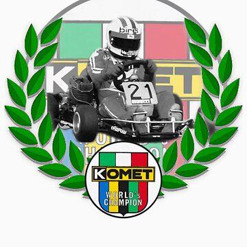 Komet World Champion/Mike Wilson  by harrisonformula