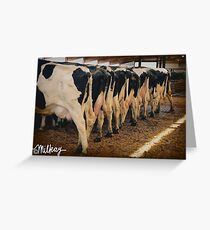 End of the Milk Line Greeting Card
