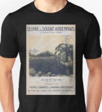 Oeuvre du soldat ardennais vente de charité avec matinée artistique T-Shirt