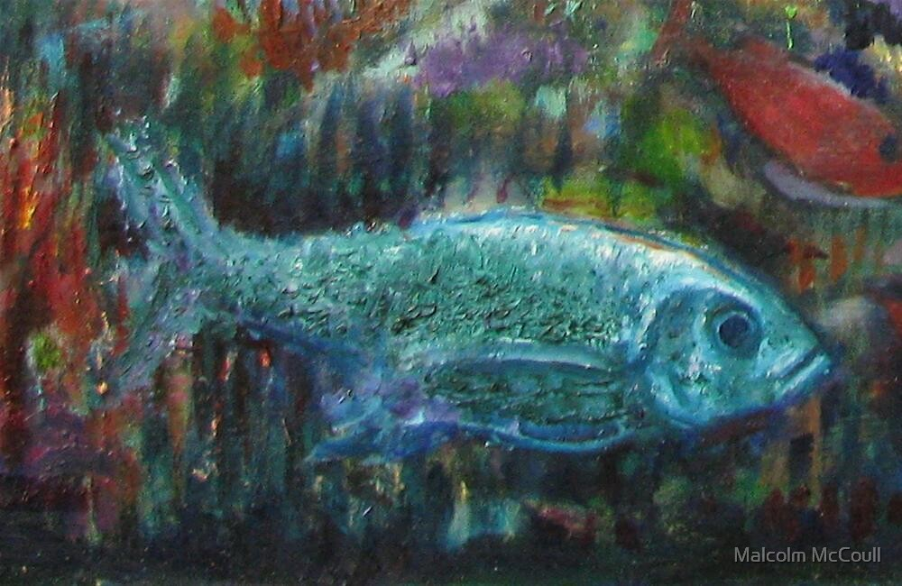 Le Poisson  (2 ) by Malcolm McCoull